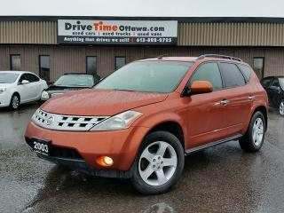 Used 2003 Nissan Murano SL AWD for sale in Gloucester, ON