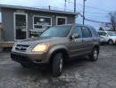Used 2002 Honda CR-V EX for sale in Brampton, ON