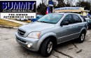 Used 2004 Kia Sorento LX | 4x4 | MANUAL | CAMERA | BLUETOOTH | ALARM for sale in Richmond Hill, ON