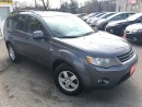Used 2008 Mitsubishi Outlander LS/AWD/7PASS/LOADED/ALLOYS for sale in Scarborough, ON
