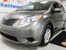 Used 2016 Toyota Sienna 8 seats with a huge storage space for long road trips or soccer & hockey gear!! for sale in Edmonton, AB
