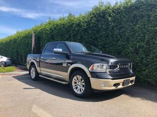 Used 2017 RAM 1500 LONGHORN + 4 CORNER AIR SUSPENSION + NAV + SUNROOF + FT/RR PARK ASSIST for sale in Surrey, BC