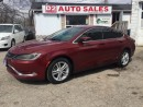 Used 2015 Chrysler 200 LOW KM/Gas Saver/Certified for sale in Scarborough, ON