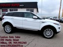 Used 2013 Land Rover Range Rover Evoque Pure Plus Package Navigation Camera Certifi for sale in Milton, ON