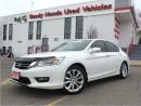 Used 2014 Honda Accord Sedan Touring - Navigation - Leather - Honda Sensing for sale in Mississauga, ON