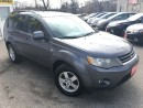 Used 2008 Mitsubishi Outlander LS/AWD/7PASS/LOADED/ALLOYS for sale in Pickering, ON
