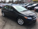 Used 2012 Honda Civic EX/AUTOAIR/PWR ROOF/LOADED/ALLOY for sale in Pickering, ON