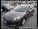 Used 2013 Mazda MAZDA3 GS SKY -SUN ROOF AUTO LOADED 82,KM for sale in Hamilton, ON