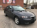 Used 2008 Mazda MAZDA3 ONE OWNER - LOW KMS - SAFETY & WARRANTY INCL for sale in Cambridge, ON