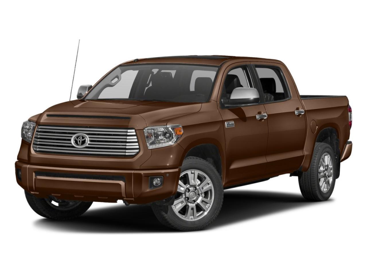 2017 Toyota Tundra 4x4 Crewmax Platinum
