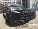 Used 2016 Jeep Cherokee Trailhawk|Leather|Nav|Sunroof|Heated/Ventilated Se for sale in Edmonton, AB