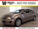 Used 2013 Hyundai Elantra GL| BLUETOOTH| CRUISE CONTROL| HEATED SEATS| 87,80 for sale in Cambridge, ON