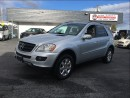 Used 2006 Mercedes-Benz ML-Class ML350 Coquitlam Location 604-298-6161 for sale in Langley, BC