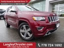 Used 2016 Jeep Grand Cherokee Overland ACCIDENT FREE w/ ADVANCED TECHNOLOGY GROUP, 4X4 & PANORAMIC SUNROOF for sale in Surrey, BC