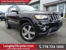 Used 2016 Jeep Grand Cherokee Limited ACCIDENT FREE w/ 4X4, LEATHER & PANORAMIC SUNROOF for sale in Surrey, BC