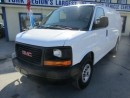 Used 2016 GMC Savana 3/4 TON WORK READY CARGO MOVER 2 PASSENGER 4.8L - VORTEC.. AUX INPUT.. STABILITRAK SYSTEM.. TOW SUPPORT.. for sale in Bradford, ON