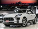 Used 2016 Porsche Macan S|NAVI|360 CAM|PANO ROOF for sale in North York, ON