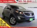 Used 2012 Kia Sportage LX| ONLY 55,749 KM'S| ONE PRICE INTEGRITY| for sale in Burlington, ON
