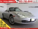 Used 2003 Porsche 911 Carrera 4| ONLY 77,009 KM'S| AWD| CONVERTIBLE| for sale in Burlington, ON