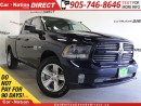 Used 2015 Dodge Ram 1500 Sport| LEATHER-TRIMMED SEATS| NAVI| BACK UP CAMERA for sale in Burlington, ON