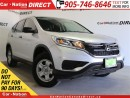 Used 2015 Honda CR-V LX| AWD| BACK UP CAMERA| HEATED SEATS| for sale in Burlington, ON