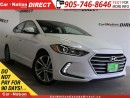 Used 2017 Hyundai Elantra GLS| BACK UP CAMERA| SUNROOF| PUSH START| for sale in Burlington, ON