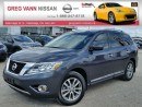 Used 2014 Nissan Pathfinder SL 4WD w/all leather,climate,rear cam,heated seats,pwr hatch for sale in Cambridge, ON