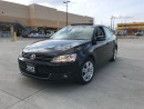 Used 2012 Volkswagen Jetta Leather, Sunroof, Black on Black, 6 Sped, Manual for sale in North York, ON