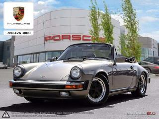 Used 1984 Porsche 911 FULLY RESTORED | Over $40,000 Invested | 2-Year Powertrain Warranty! for sale in Edmonton, AB