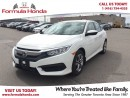 Used 2016 Honda Civic Sedan LX | BLUETOOTH | LOW KM! NEAR BRAND NEW! for sale in Scarborough, ON