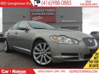 Used 2011 Jaguar XF Premium LUX | V8 | CLEAN CARPROOF | NAVI | SUNROOF for sale in Georgetown, ON