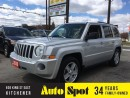Used 2010 Jeep Patriot North/MOONROOF/AMAZING CONDITION!/PRICED FOR A QU for sale in Kitchener, ON
