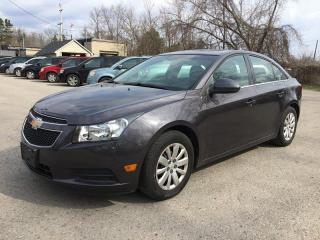 Used 2011 Chevrolet CRUZE 1LT * SAT RADIO SYSTEM * PREMIUM CLOTH SEATING for sale in London, ON