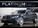 Used 2014 Mercedes-Benz S-Class S63 AMG 4MATIC, LONG for sale in North York, ON