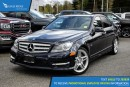 Used 2012 Mercedes-Benz C-Class Navigation, Sunroof, and Heated Seats for sale in Port Coquitlam, BC
