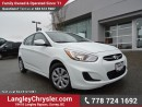Used 2016 Hyundai Accent GL ACCIDENT FREE w/ POWER WINDOWS/LOCKS & HEATED FRONT SEATS for sale in Surrey, BC