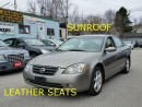 Used 2003 Nissan Altima LETHER/SUNROOF for sale in Scarborough, ON