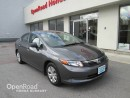 Used 2012 Honda Civic Sdn DX for sale in Burnaby, BC