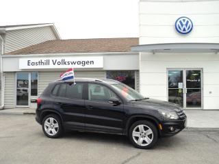 Used 2014 Volkswagen Tiguan COMFORTLINE for sale in Walkerton, ON
