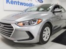 Used 2017 Hyundai Elantra Don't think about what if's, just do it. for sale in Edmonton, AB
