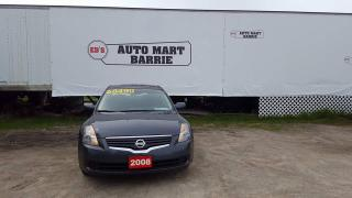 Used 2008 Nissan Altima S for sale in Barrie, ON