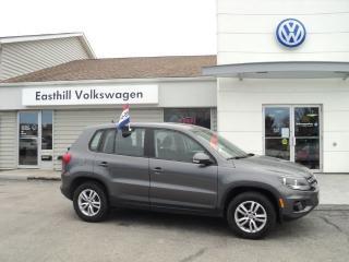 Used 2013 Volkswagen Tiguan Trendline for sale in Walkerton, ON