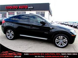 Used 2009 BMW X6 xDrive 50i DVD PKG NAVIGATION CAMERA CERTIFIED 2 YE for sale in Milton, ON