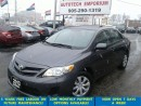 Used 2013 Toyota Corolla Sunroof/Plus Btooth/Htd Sts&ABS*$39/wkly for sale in Mississauga, ON