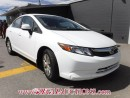 Used 2012 Honda CIVIC LX 4D SEDAN 5SP for sale in Calgary, AB