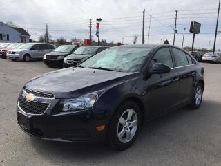 Used 2014 Chevrolet CRUZE 2LT * 1 OWNER * LEATHER * SUNROOF * REAR CAM * BLUETOOTH for sale in London, ON