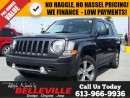 Used 2016 Jeep Patriot High Altitude-Satellite Radio-Sunroof for sale in Belleville, ON