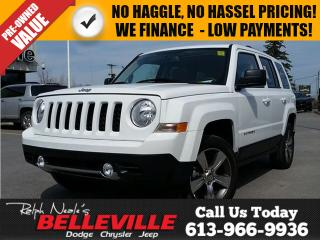 Used 2016 Jeep Patriot High Altitude-Sunroof-Bluetooth for sale in Belleville, ON