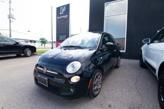 Used 2015 Fiat 500 SPORT, BLUETOOTH, USB CONNECT, Leather Wrapped for sale in Toronto, ON