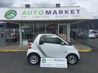 Used 2011 Smart fortwo Passion Bluetooth/AUX. WARRANTY for sale in Langley, BC